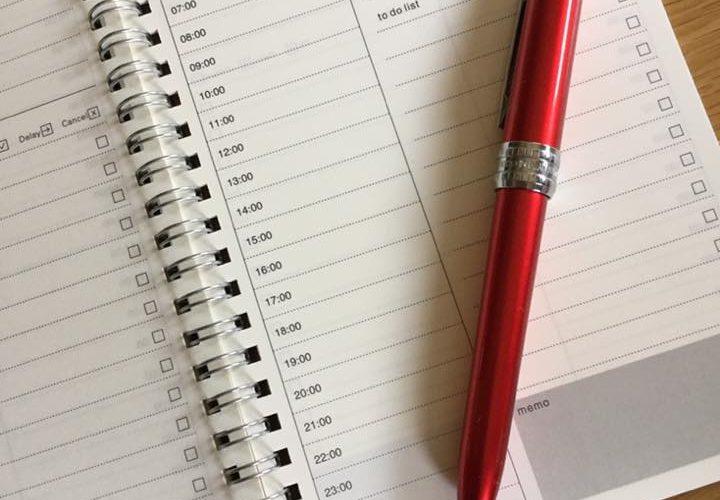 アスペルガーの仕事術 その2 優先順位を付けて、手帳に書き込む