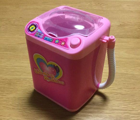 ダイソーのおもちゃの洗濯機を使ってみた
