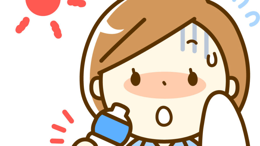 ダイエット61日目 熱中症に注意!
