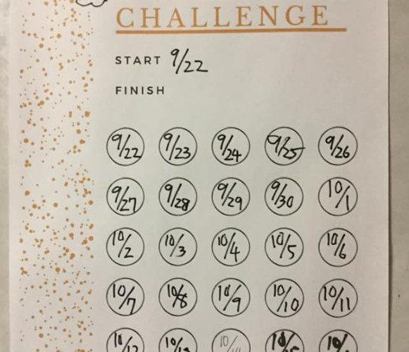 ダイエット137日目 2回目の腹筋30日チャレンジ終了!! 結果は?