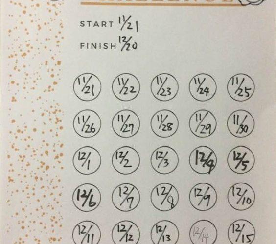 ダイエット197日目 背筋30日チャレンジ終了!