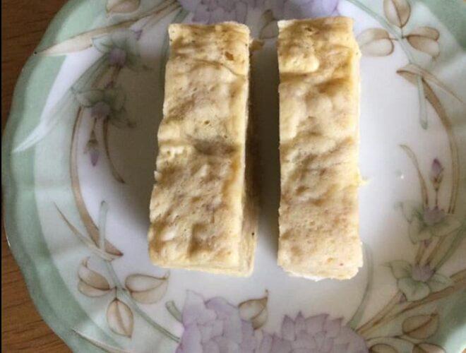 ダイエット232日目 砂糖もラカントもなしでバナナ蒸しパン