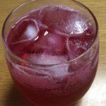 ダイエット380日目 梅雨入りしたし紫蘇ジュース